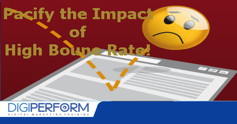 Solution for High Bounce Rate