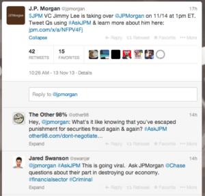 J.P. Morgan Cancels Q&A