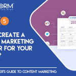 Chapter 5- How to create a content marketing calendar for your business?