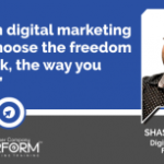 Learn digital marketing and choose the freedom to work, the way you want!