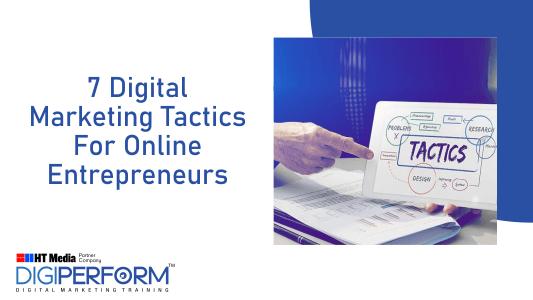 digital marketing tactics for entrepreneur