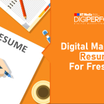 Digital Marketing Resume For Freshers- A Complete Guide with Templates