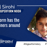 """""""Digiperform Has The Best Trainers Around.""""- Anmol Sirohi"""