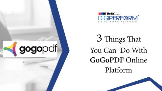GoGoPDF Online Platform