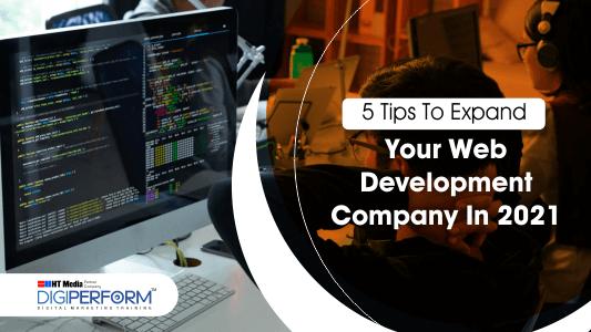 tips to expand web development company