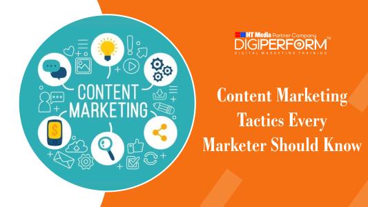Best Content Marketing Tactics