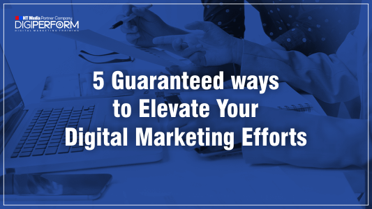 5 ways to boost your digital marketing activity